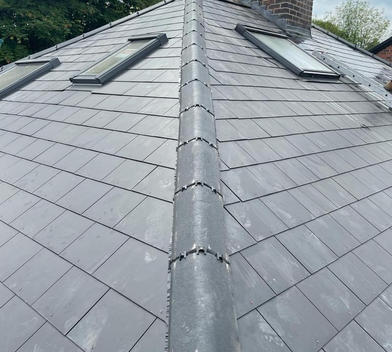 Full Re-Roof - Sheffield, S11->title After