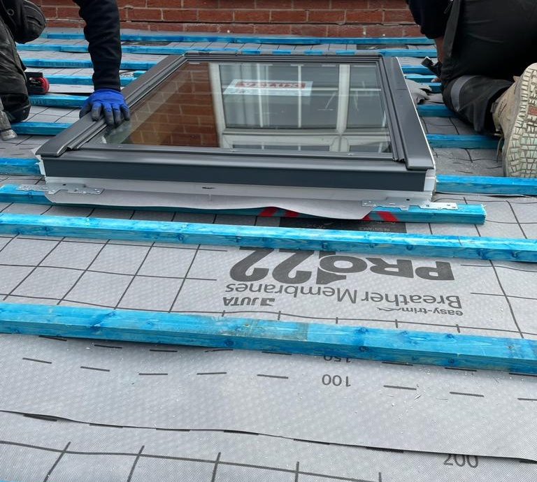 New Extension Roof & Velux Windows - Sheffield->title 2