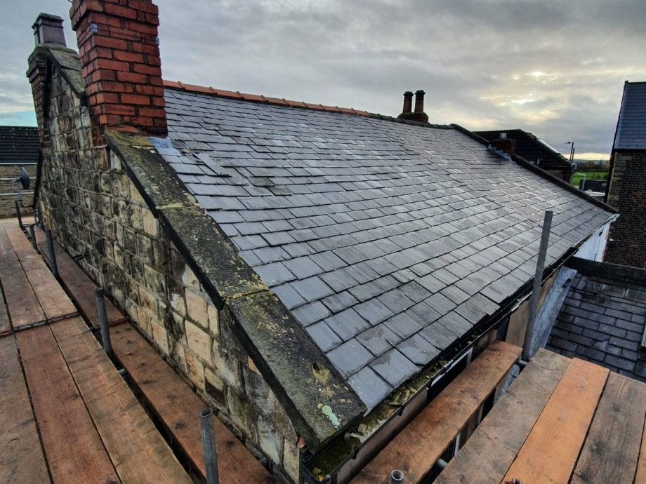 Pitched Roof Refurbishment->title 1
