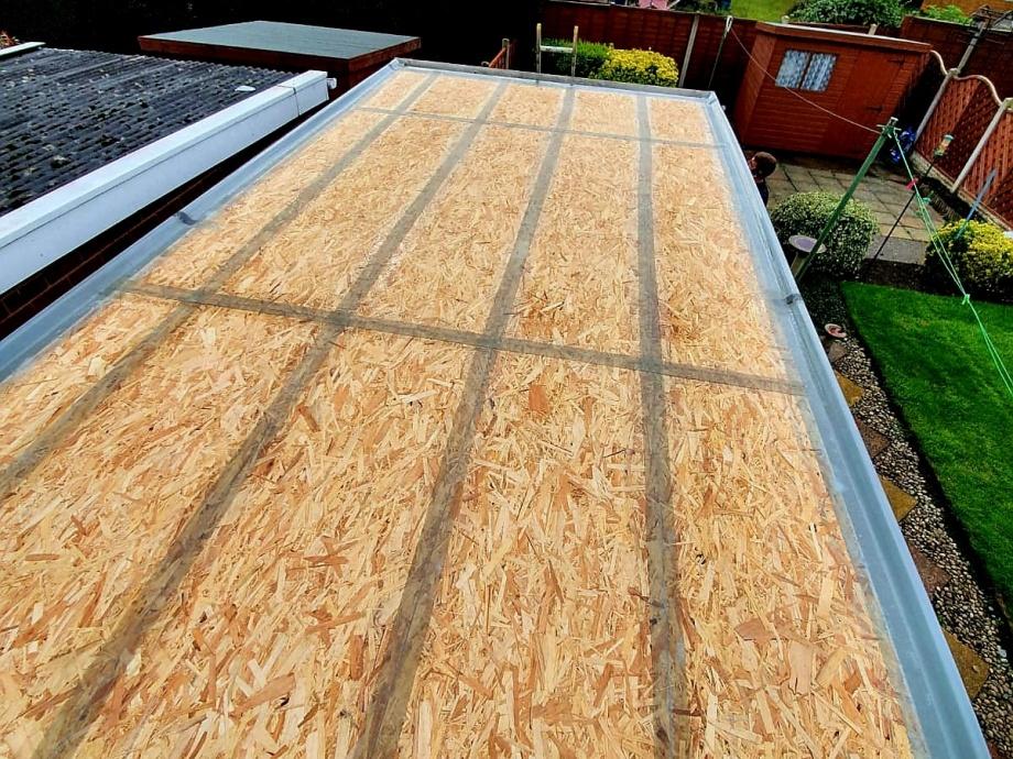 Fibreglass Garage Roof->title 2