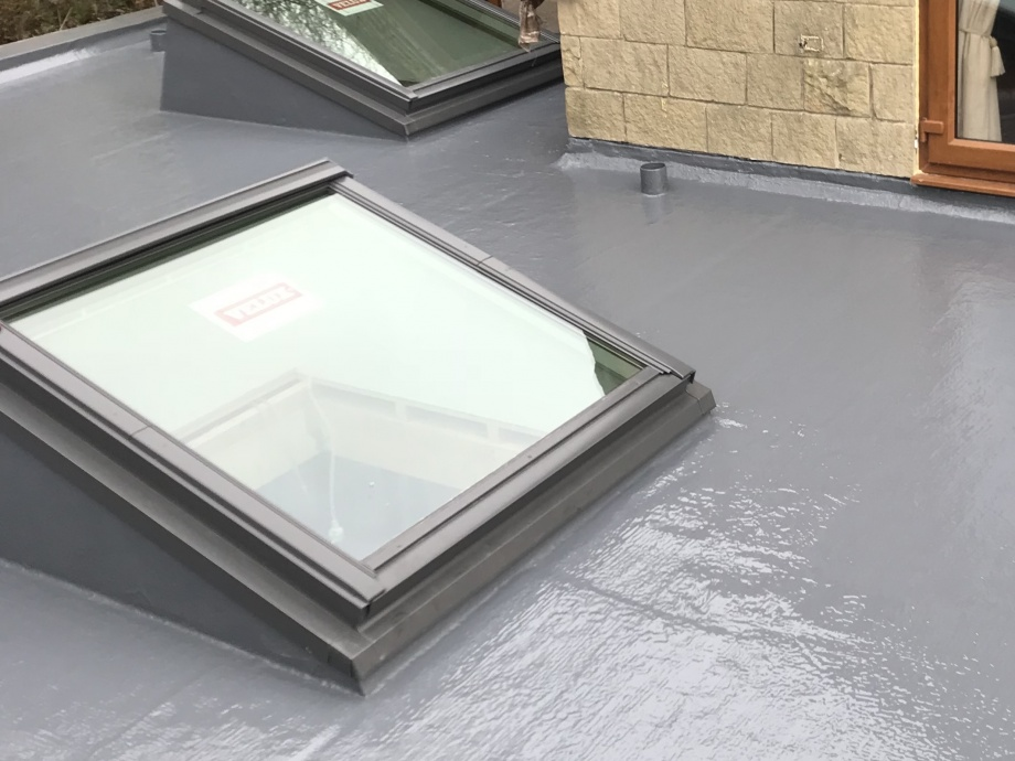 New Build GRP Roof->title After