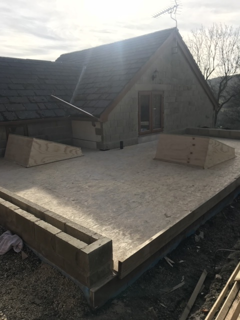 New Build GRP Roof->title 1