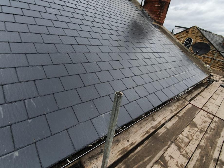 Roof Refurbishment, Sheffield->title 1