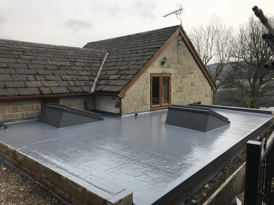 New Build GRP Roof->title 5