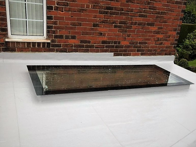 Skylight and Flat Roof - Sheffield->title 5