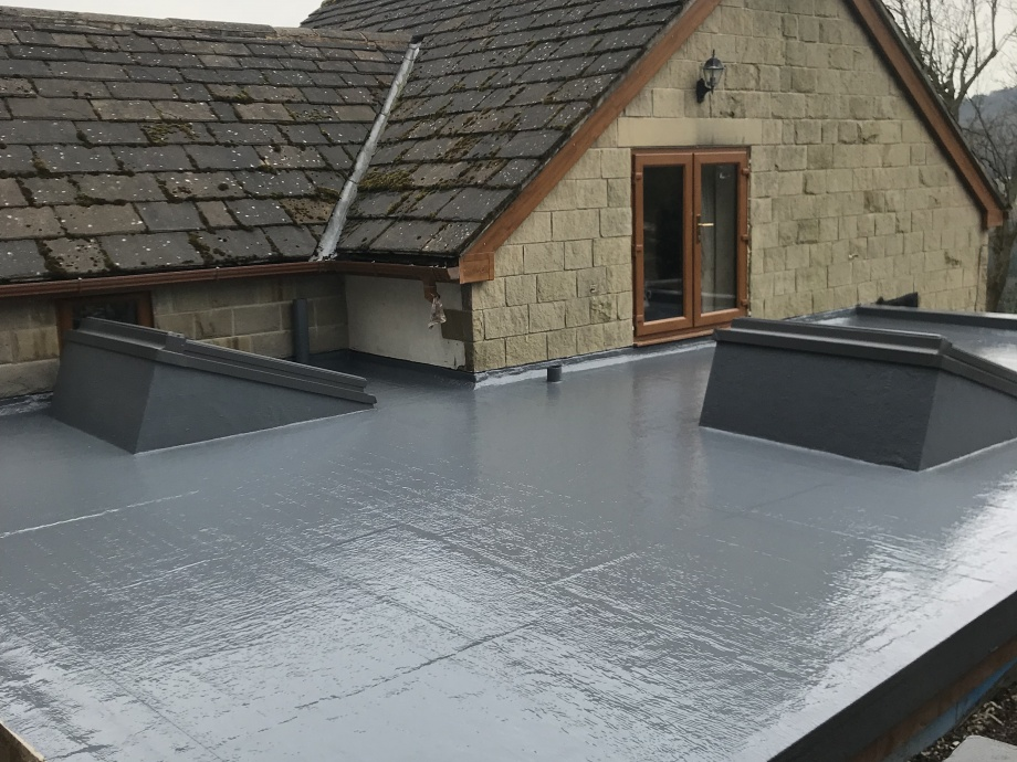 New Build GRP Roof->title 2