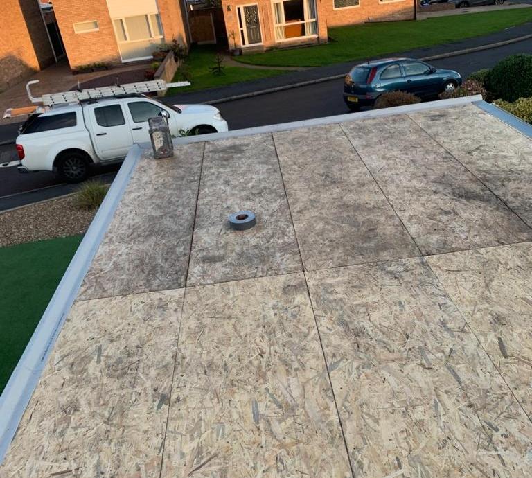Fibreglass (GRP) Garage Roof->title 1