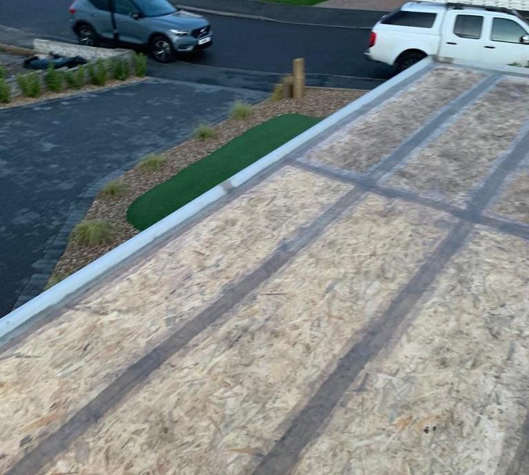 Fibreglass (GRP) Garage Roof->title 2