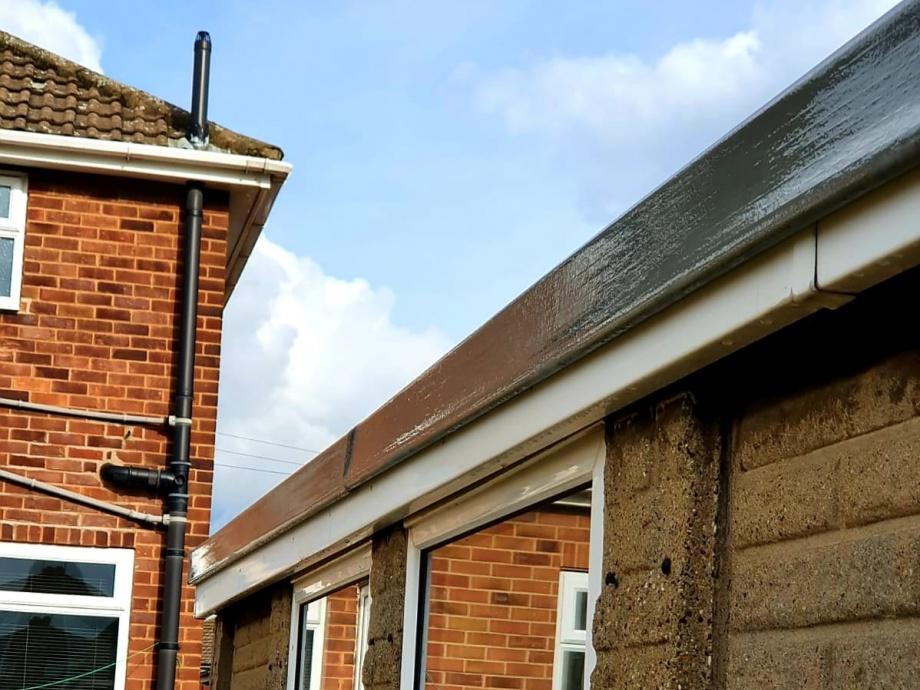 Fibreglass Garage Roof->title 4