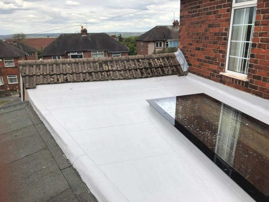 Skylight and Flat Roof - Sheffield->title After